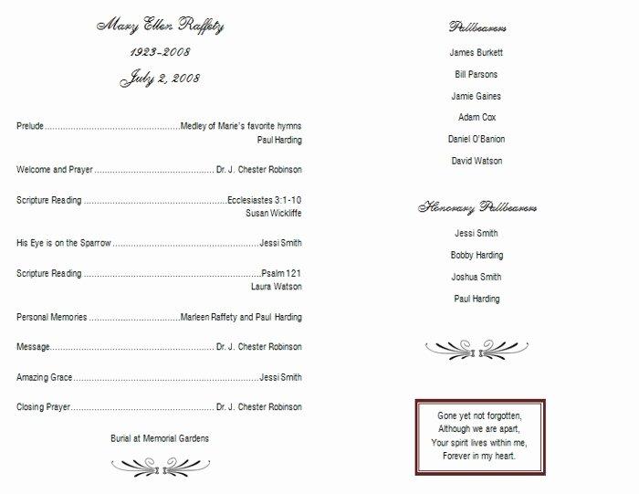 10 Best Of Catholic Memorial Service Booklet