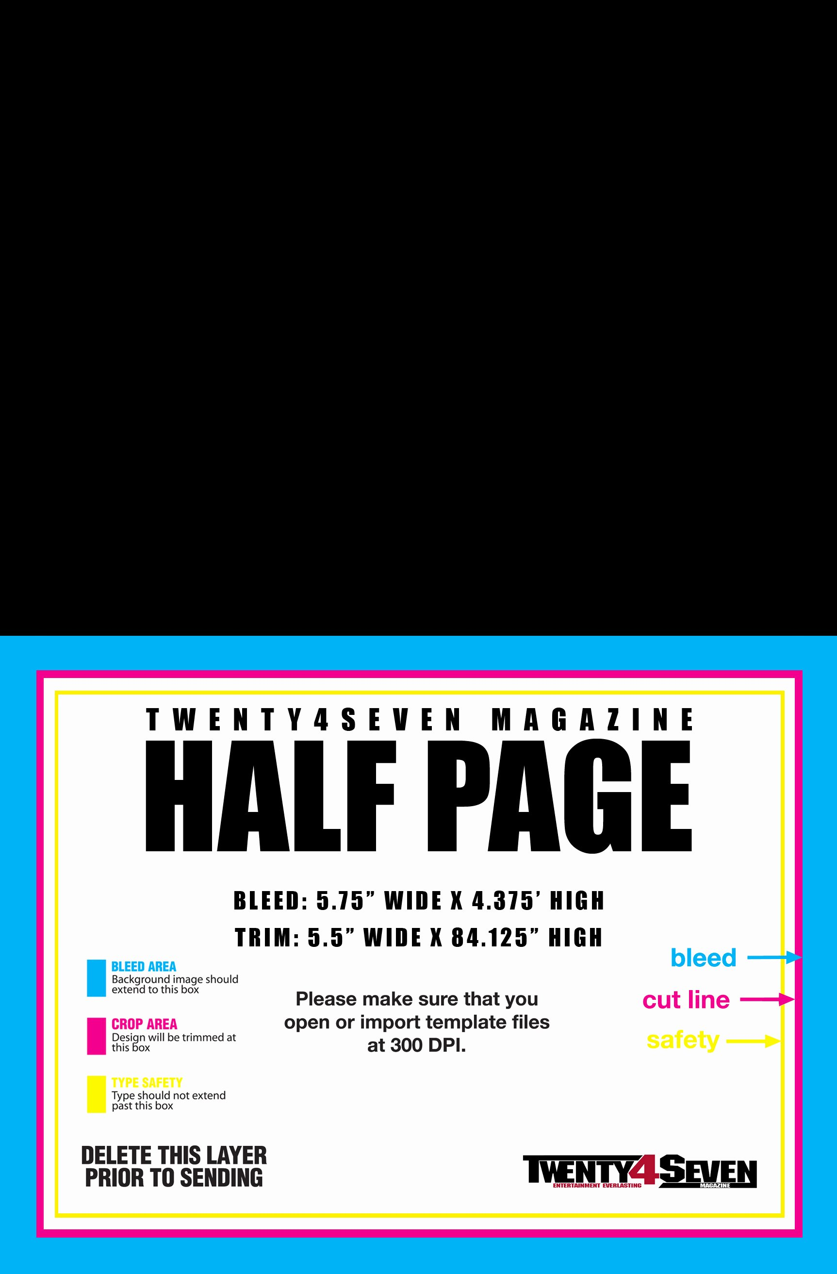 10 Best Of Half Page Flyer Template Word