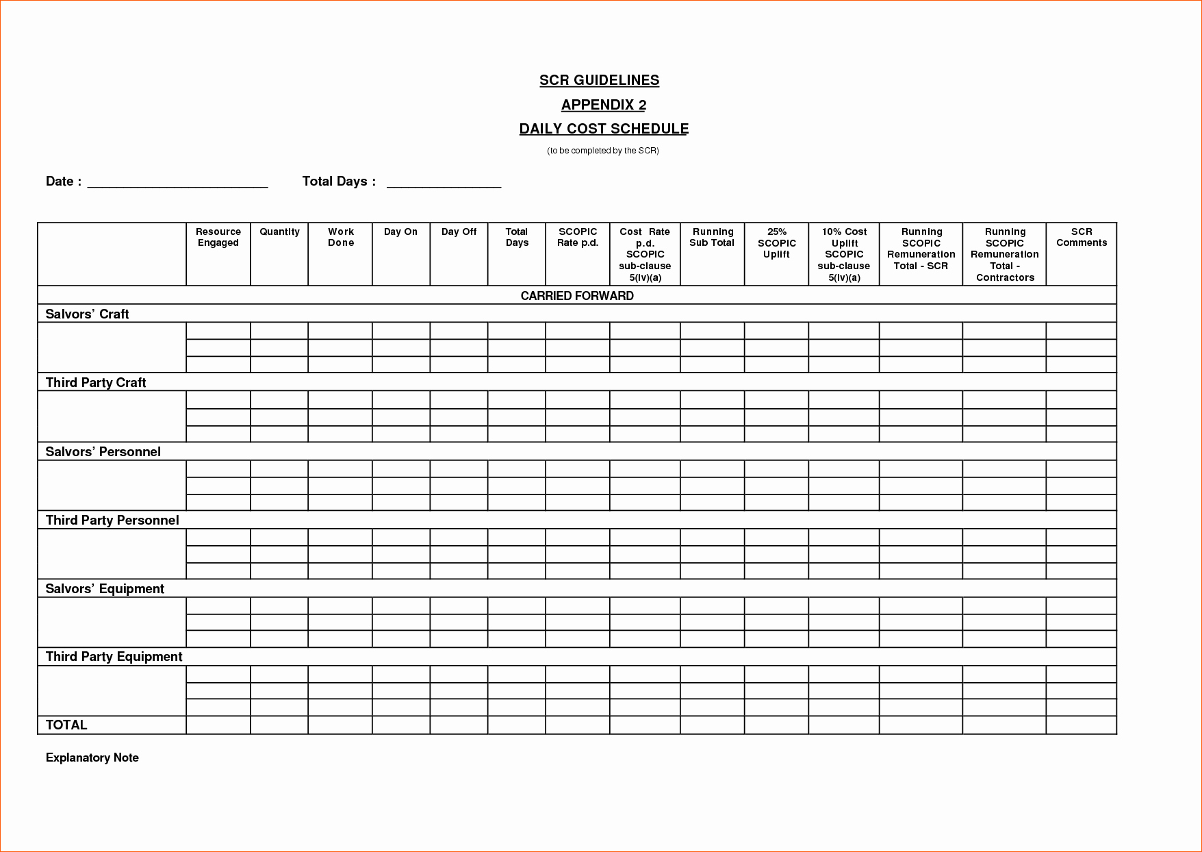 10 Daily Schedule Template Pdf