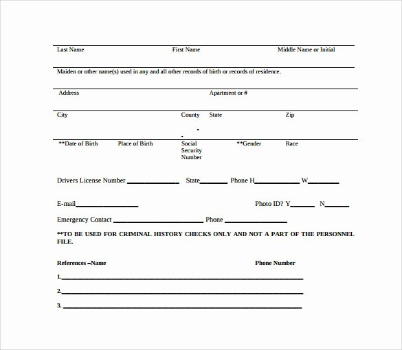 11 Background Check Authorization forms to Download