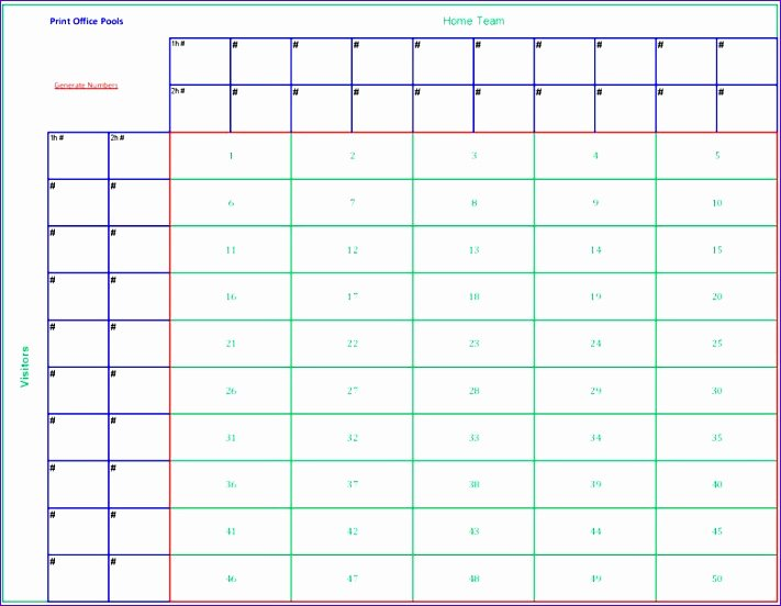 12 Football Pool Excel Template Exceltemplates