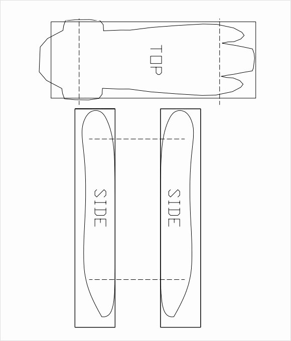 12 Sample Pinewood Derby Templates to Download