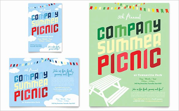 14 Amazing Picnic Flyer Templates In Word Psd