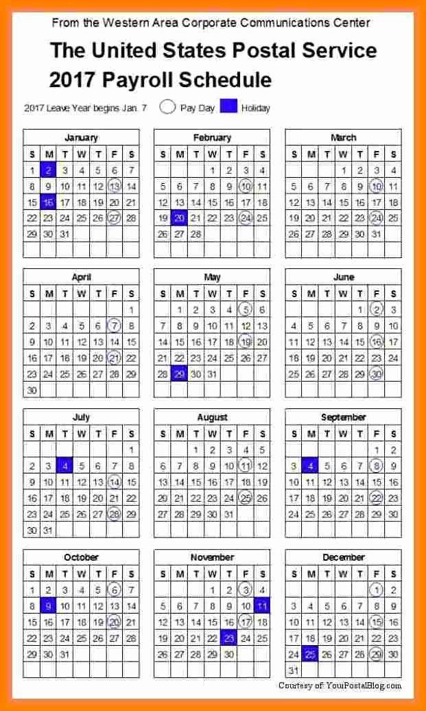 14 Securitas Pay Calendar 2018
