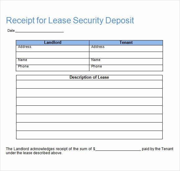 16 Sample Deposit Receipt Templates to Download
