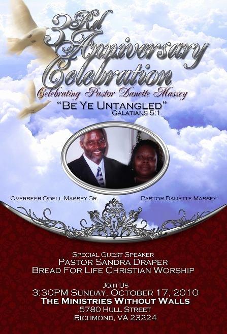 17 Pastoral Anniversary Flyer Templates Church
