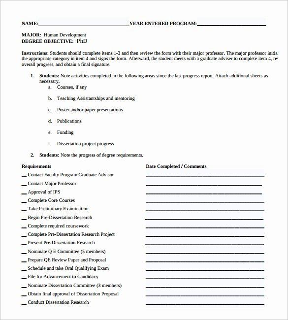 17 Sample Student Progress Reports
