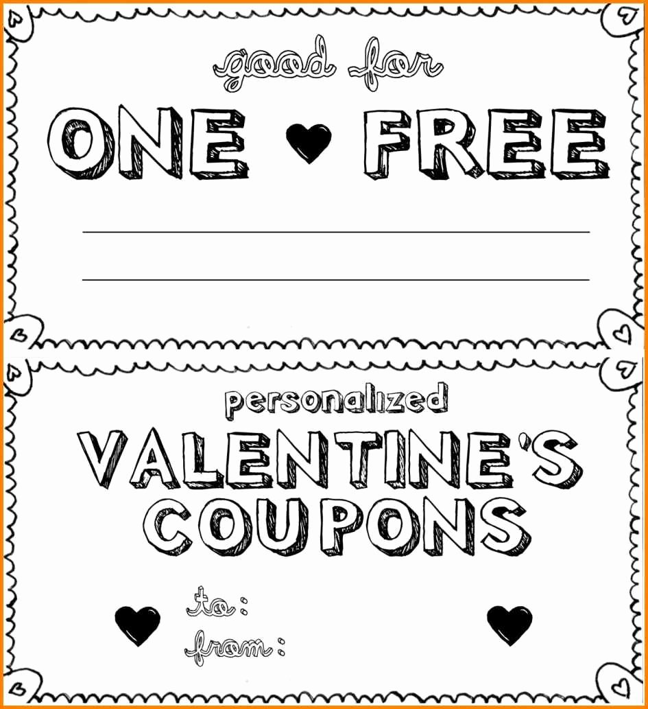 18 Blank Coupon Templates