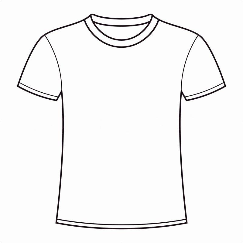 19 Blank T Shirt Vector Template Blank T Shirt