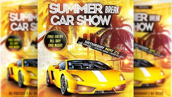 19 Car Show Flyer Free & Premium Psd Ai Vector Eps