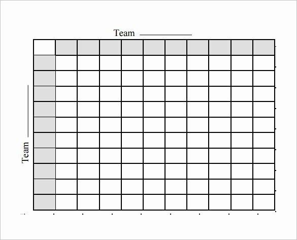 19 Football Pool Templates Word Excel Pdf