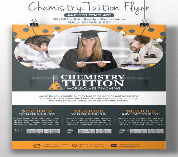 20 Cool Tutoring Flyers Templates