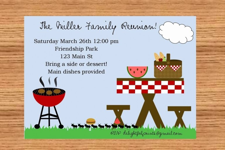 24 Free Picnic Flyer Templates for All Types Of Picnics