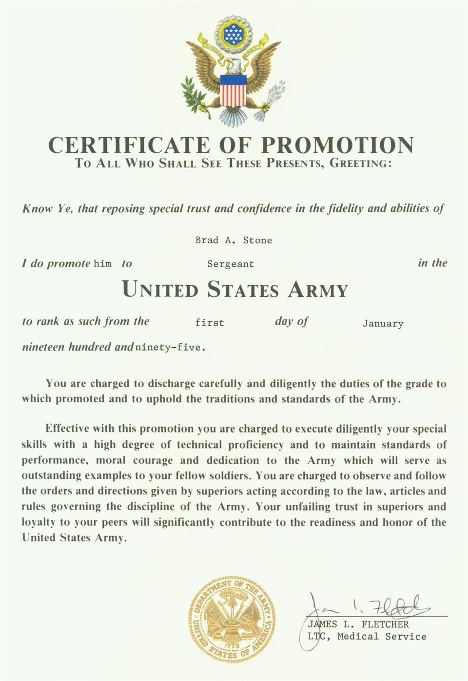 24 Of Ficer Promotion Program Template