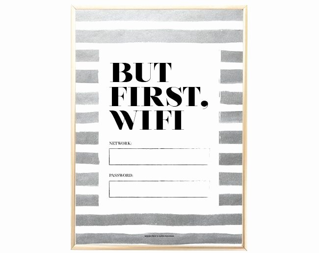 25 Best Ideas About Wifi Password Printable On Pinterest