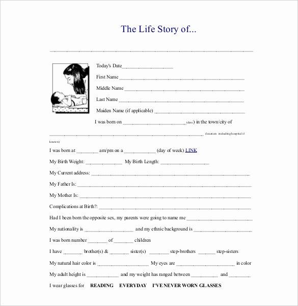 25 Biography Templates Doc Pdf Excel