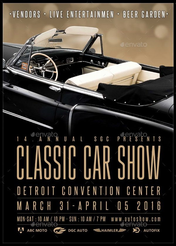 25 Car Show Flyer Design Psd Vector Eps Jpg Download