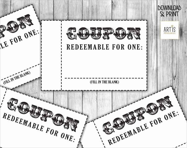 26 Coupon Design Templates
