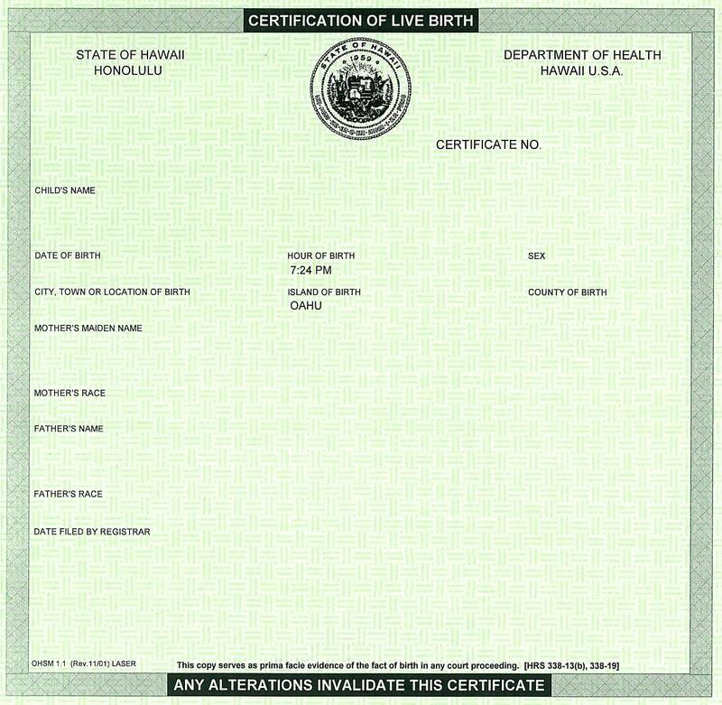 26 Of Texas Birth Certificate Blank Template