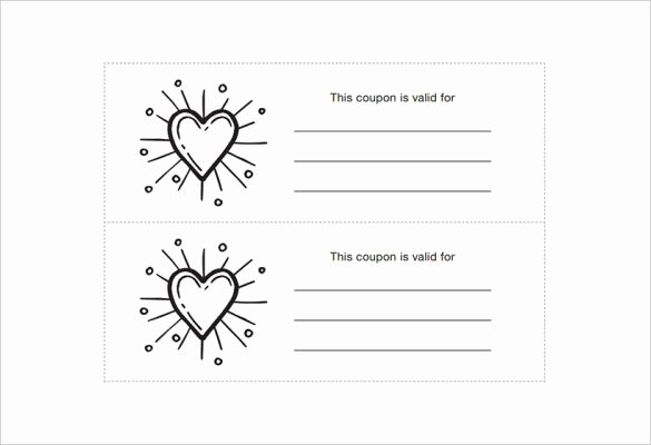 28 Homemade Coupon Templates – Free Sample Example