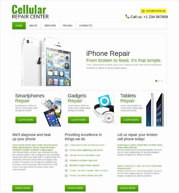 28 Puter Repair Website themes & Templates