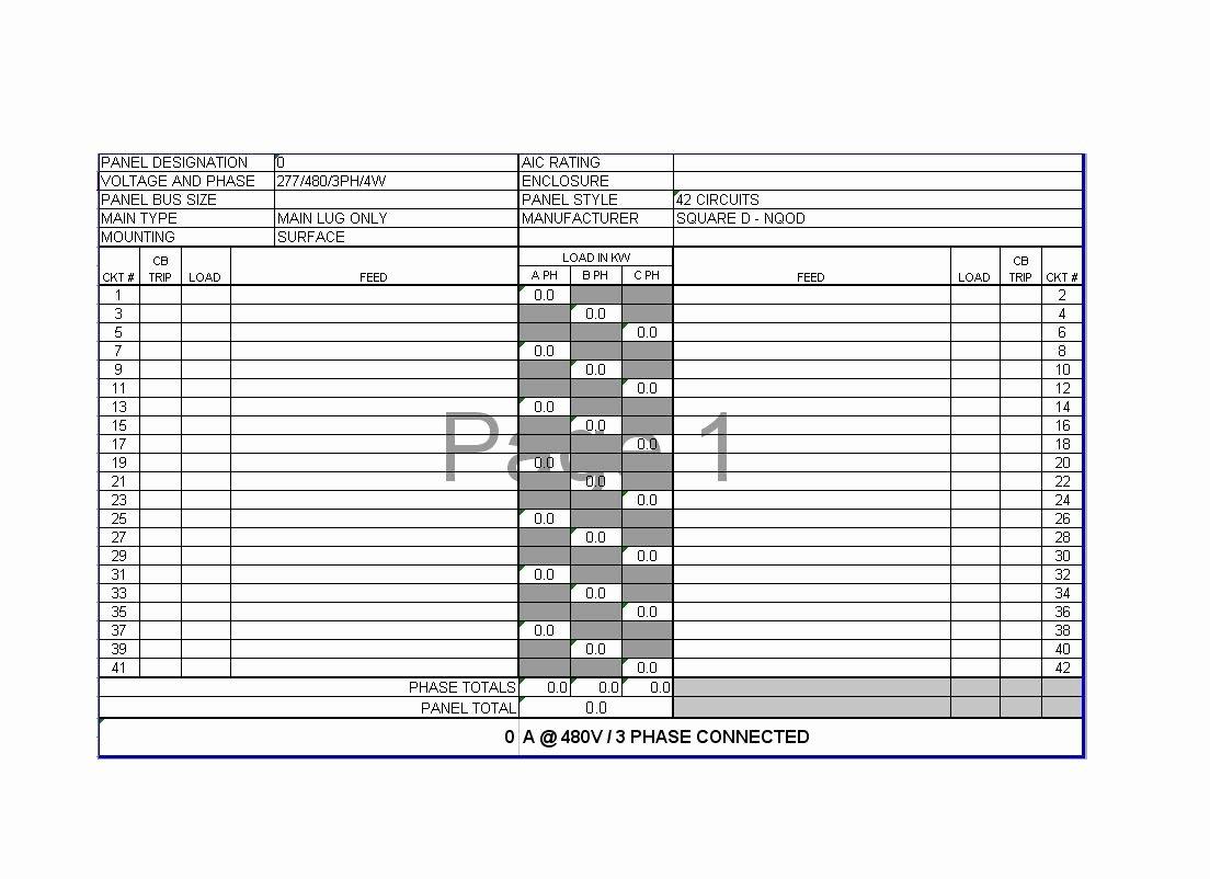 3 Phase Panelboard Diagram 3 Phase Plug Elsavadorla