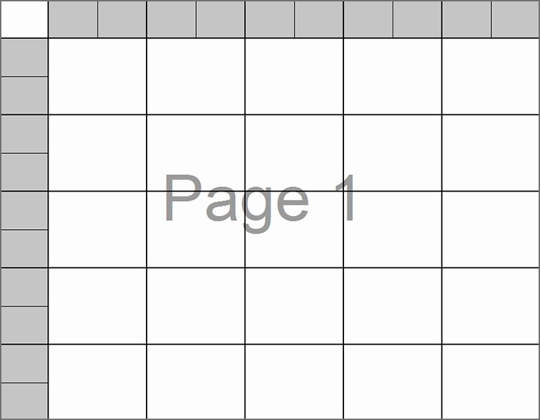 33 Printable Football Square Templates Free Excel Word