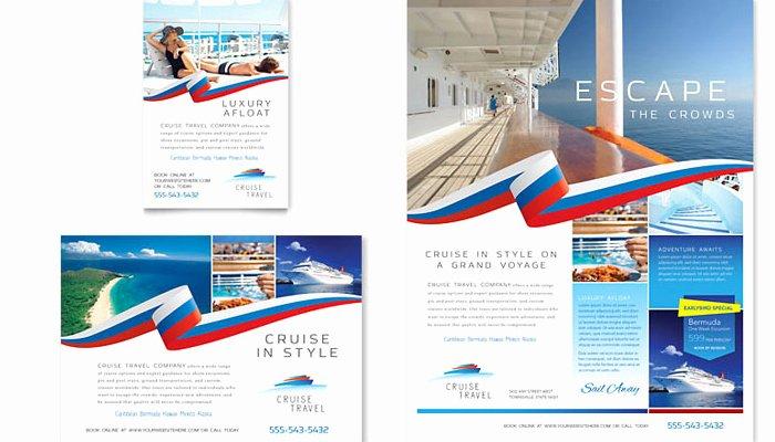 5 Cruise Flyer Templates