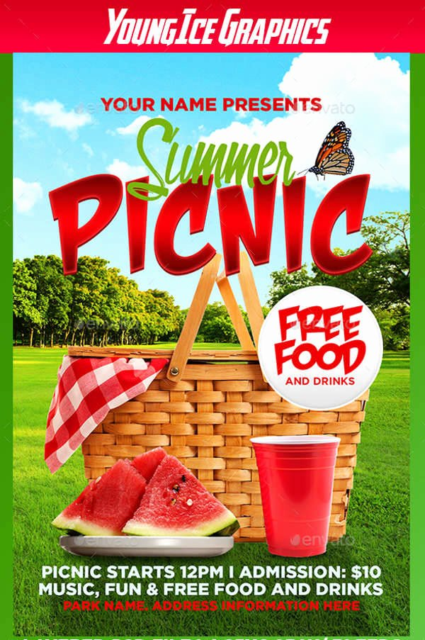 55 Summer Flyer Designs