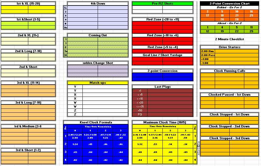 7 Best Of Printable Football Play Templates