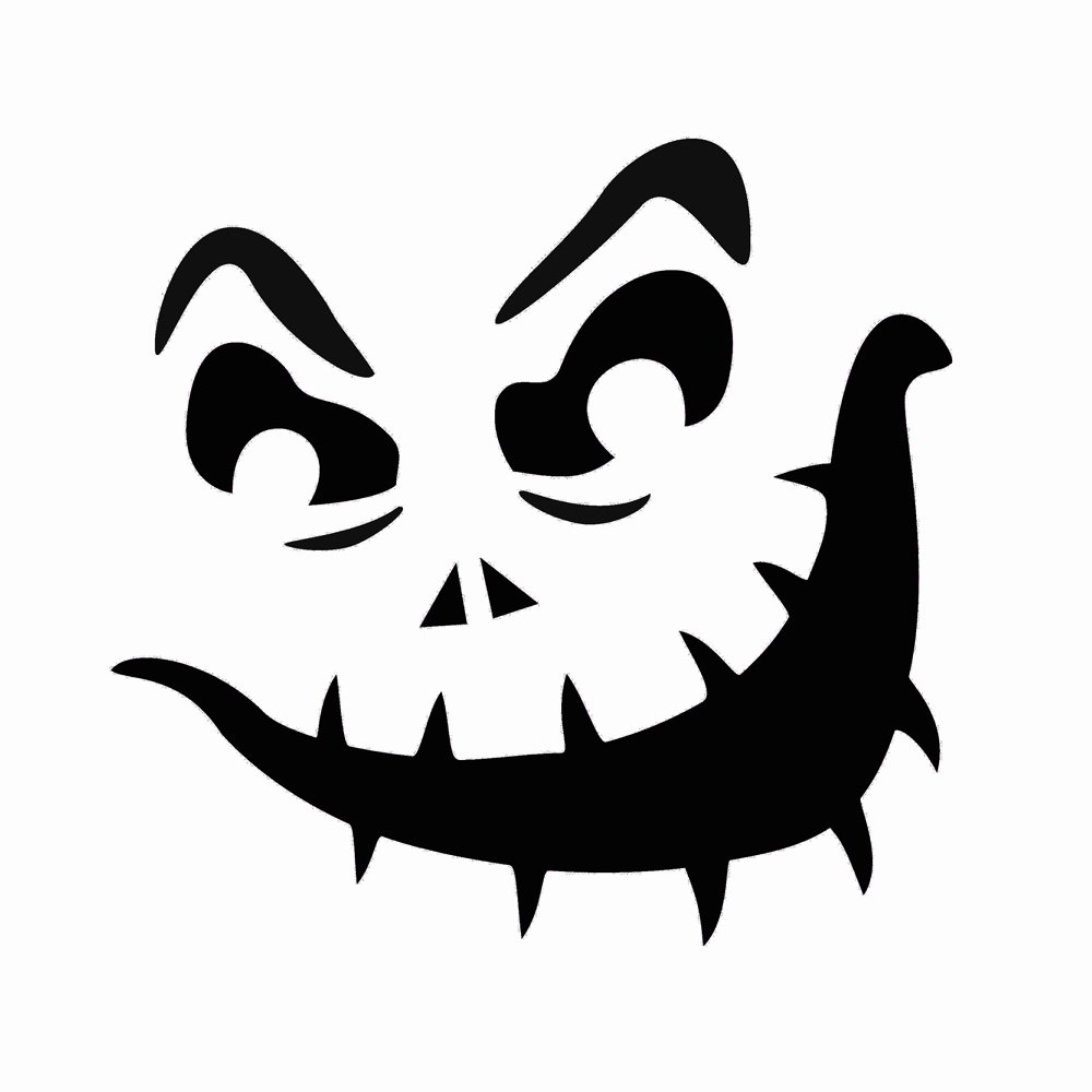 7 Best Of Printable Jack O Lantern Pumpkin Stencil