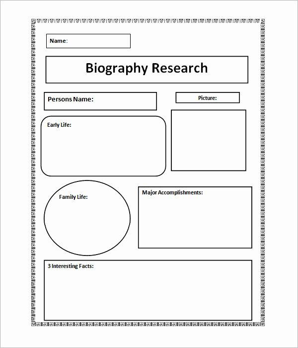 7 Biography Samples – Pdf