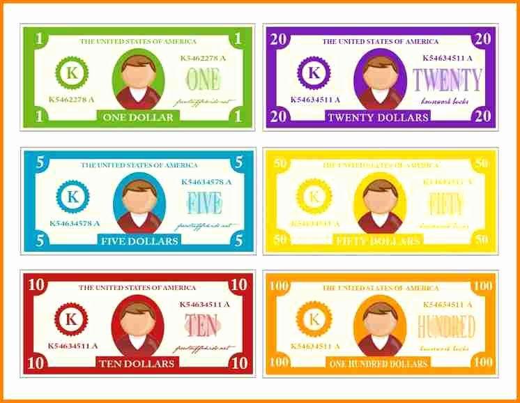 7 Customizable Fake Money Template
