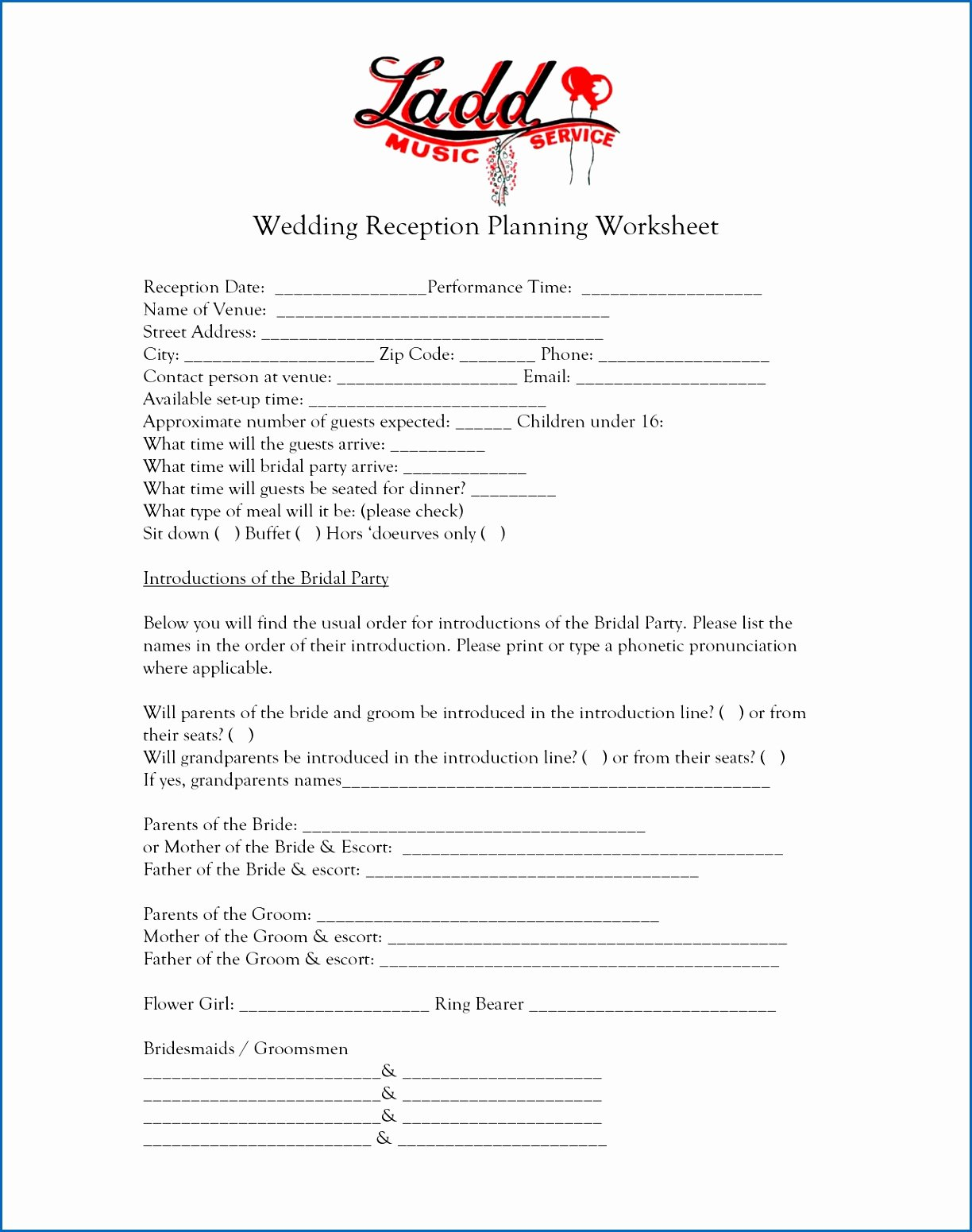7 Dj Contracts for Weddings