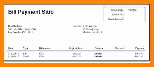 7 Independent Contractor Pay Stub Template