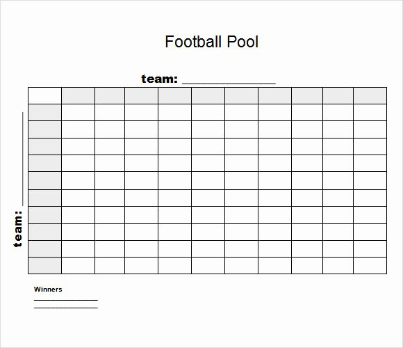 8 Football Pool Samples