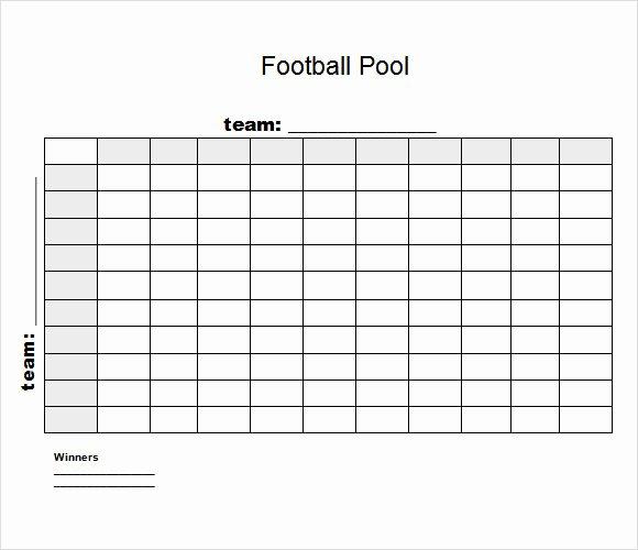 8 Football Pool Samples