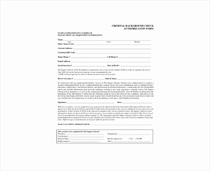 9 Background Check Information forms & Templates Pdf