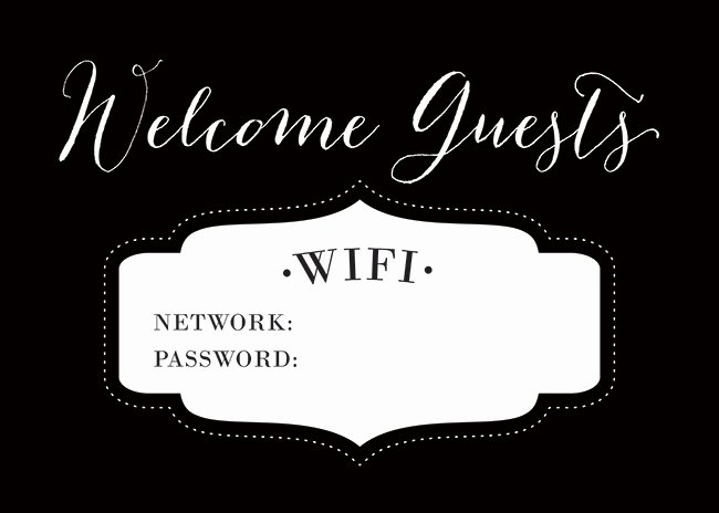 9 Best Of Guest Wifi Password Printable Wifi