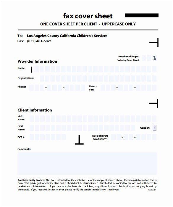 9 Confidential Fax Cover Sheet Templates Doc Pdf