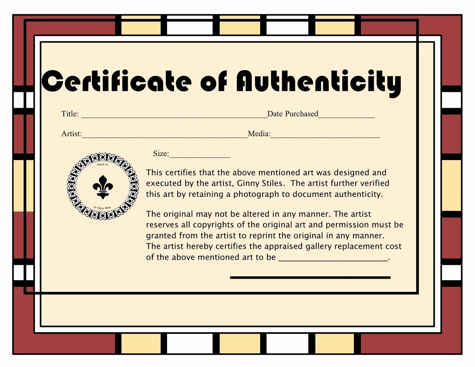 An Artist Labyrinth Ginny Stiles Czt Certificate Of