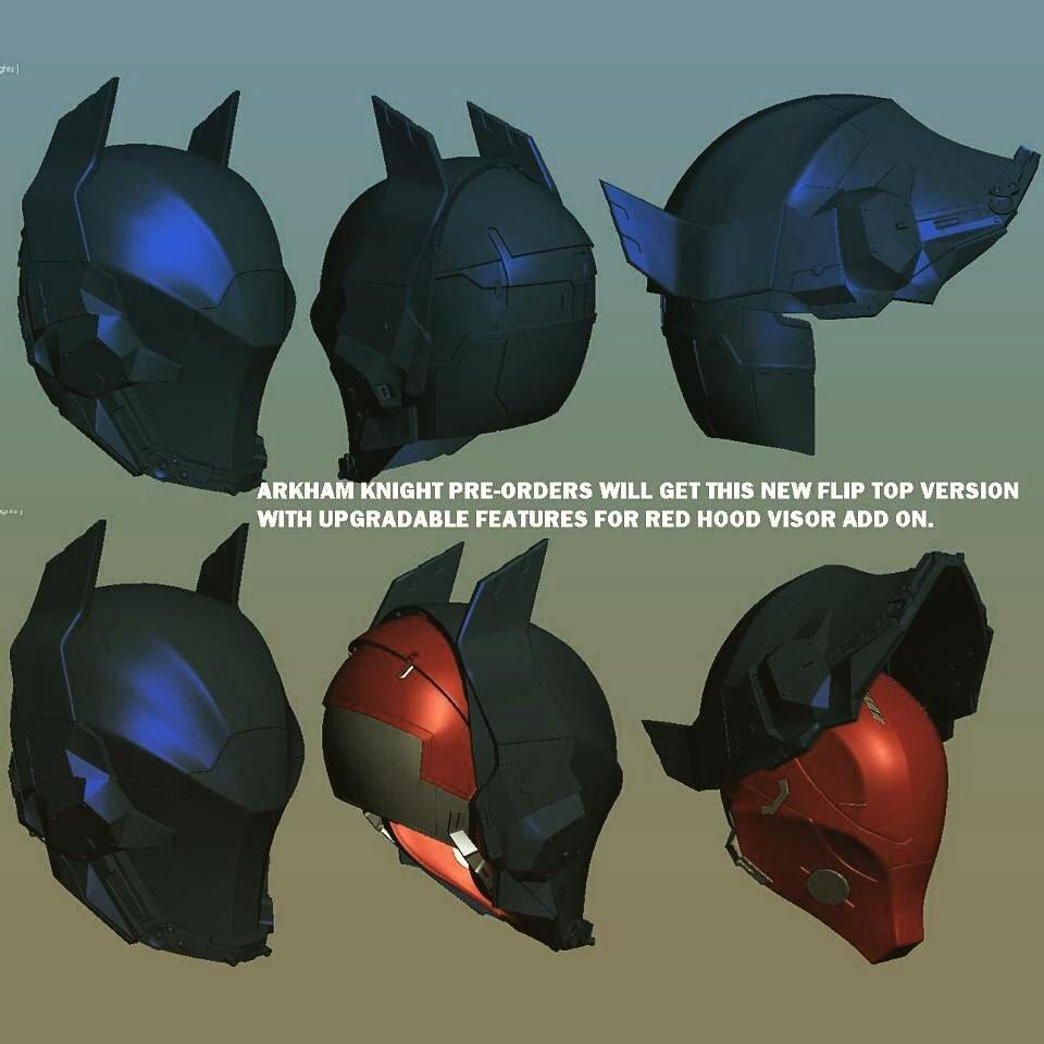 Arkham Knight Helmet Pre order by Uratzstudios On Etsy