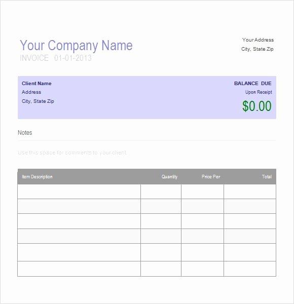 Auto Repair Invoice Template Printable Word Excel