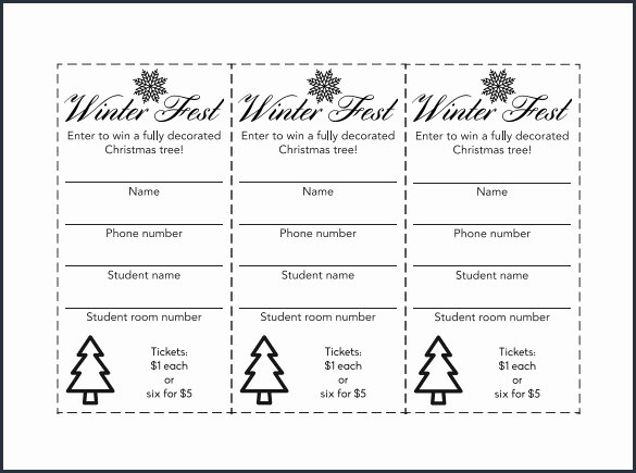 Avery Raffle Ticket Template Template Design Ideas