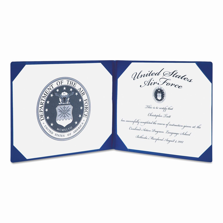 Award Certificate Binder by Ability E Nsn