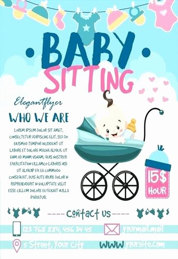 Babysitting Flyer Template Word 5 Babysitter Flyers