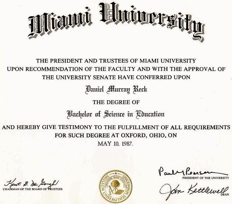 Bachelor Degree Certificate northfourthwallco Bachelor