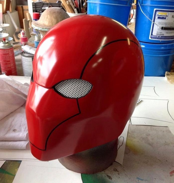 Best 25 Red Hood Helmet Ideas On Pinterest