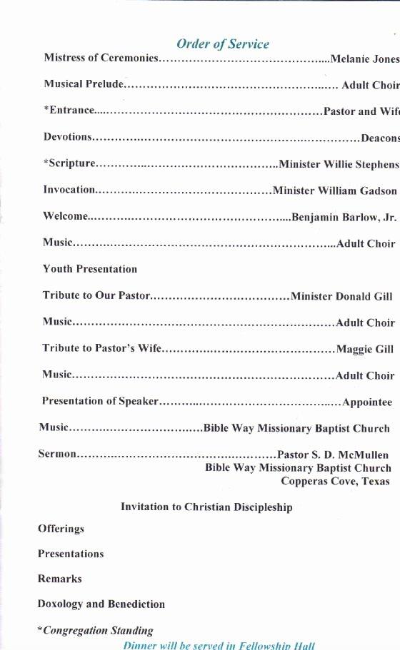 Best S Of Black Pastors Anniversary Programs Pastor