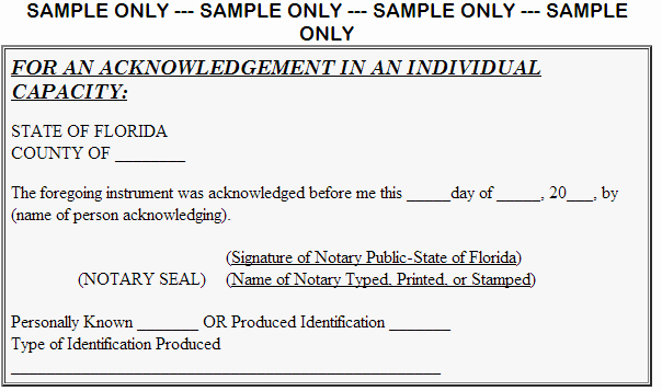 Best S Of Florida Notary Signature Notary Public